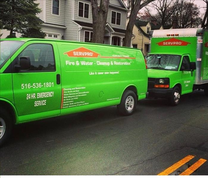 SERVPRO of Long Beach/Oceanside quick to action!