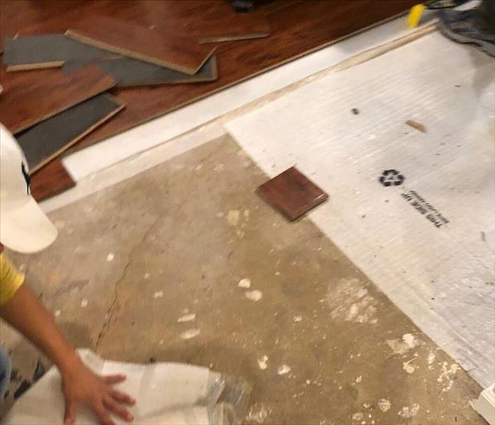 Water Damage Damaged Hardwood Flooring in your Long Beach/Oceanside home? Let us help!